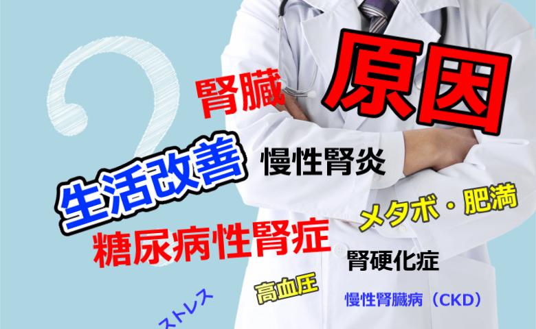 透析へ至る原因疾患は何?